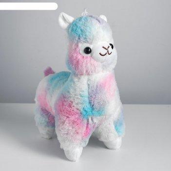 Мягкая игрушка лама 40 см