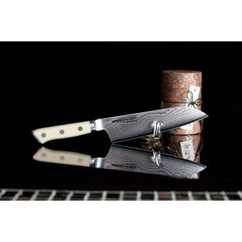 Нож кухонный поварской сантоку японский samura by mcusta smc