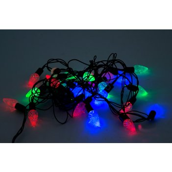 """Ёлочная электрогирлянда """"шишки"""" на 28 ламп led"""