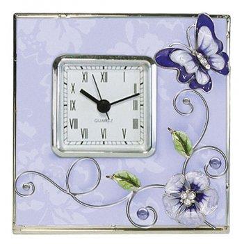 Настенные часы из стекла