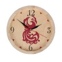 Часы банные бочёнок №7