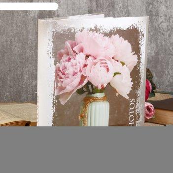 Фотоальбом магнитный 20 листов pioneer bouquets 23х28 см