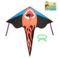 Воздушный змей акула с леской