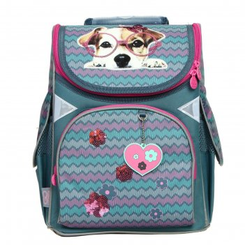 Ранец стандарт gopack 5001s, 34 х 26 х 13 см, sweet puppy