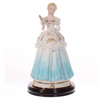 Фигурка декоративная дама, l18 w18 h35 см