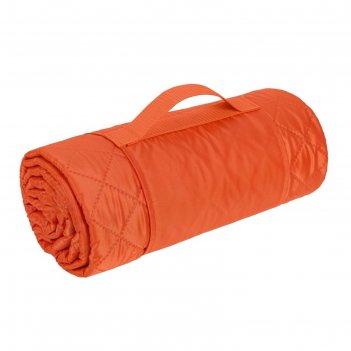 Плед для пикника comfy, размер 115х140 см, цвет оранжевый