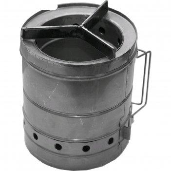 Печка щепочница век тур-б d 200мм