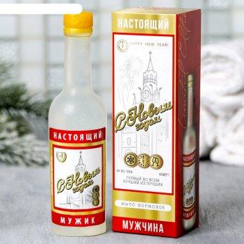 Мыло-водка с новым годом