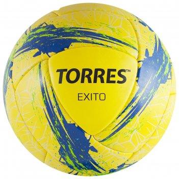 Мяч футбольный torres exito, размер 5, 16 панелей, pu, цвет жёлтый