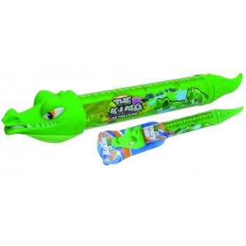 1toy аквамания, вод.помпа в виде крокодила, 54 см, бирка