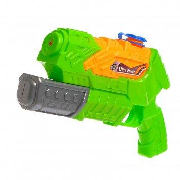 Водный пистолет партизан, без курка, 27 см, цвета микс