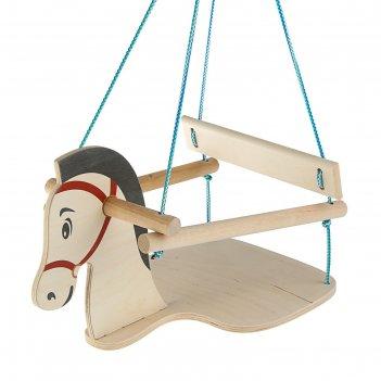 Качель детская конь