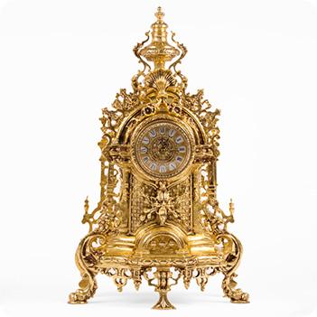Часы каминные париж
