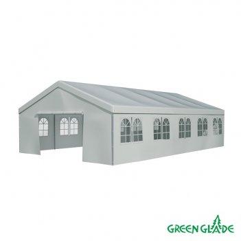 Тент садовый green glade 3019 6x10x3.2/2м полиэстер 4 коробки