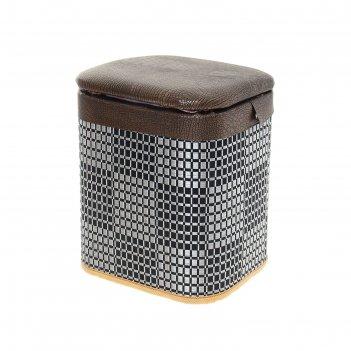 Пуфик-короб, малый, шахматы