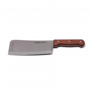 Нож разделочный atlantis, 18 см, коричневый