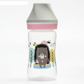Бутылочка для кормления, широкое горло, от 0 мес., 250 мл.