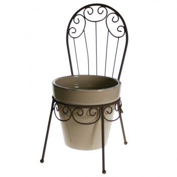 Декоративное изделие подставка для цветов (стульчик, кашпо),...