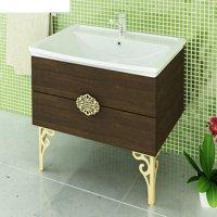 Тумба-умывальник для ванной римини-80 56 х 80 х 46 см с раковиной comforty