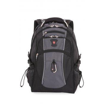 """Рюкзак swissgear, 15"""",чёрный/серый, полиэстер 900d/420d/м2 добби, 34x23x48"""