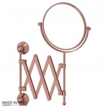 Косметическое зеркало двустороннее x2, античная медь, 3sc