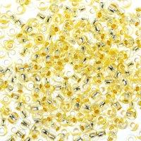 Бисер gamma круглый 10/0 (f386 св. желтый)