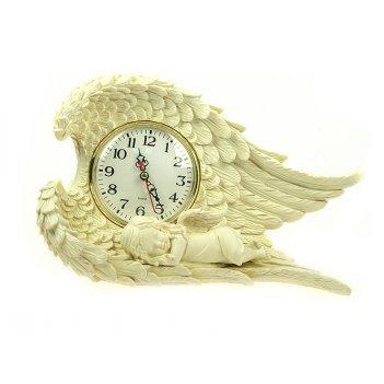 Часы настольные ангелочек 31*20*10см (уп.1/8шт.)