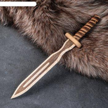 Сувенир деревянный клинок тип 2, 31 х 4,5 см