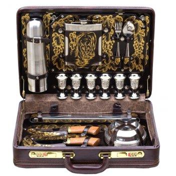 Подарочный набор для шашлыка «престиж» (6персон)