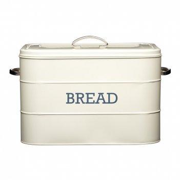 Kitchen craft хлебница living nostalgia creamy