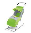 Детские санки-коляска умка 2 (зеленый)