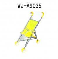 Коляска для куклы (желтый цвет), 41x28x56см