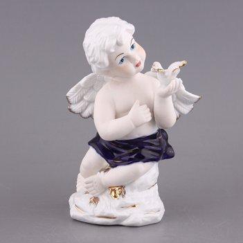Фигурка ангел с голубем цв.упак. высота=19 см (к...