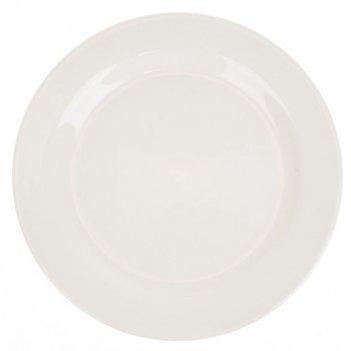 Блюдо сервировочное сливки d=21,5см. h=2,5см. (керамика) (транспортная упа