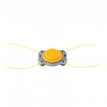 Головка для триммера denzel 96363, леска max 2.4 мм, под шайбу/гайку м8/м1