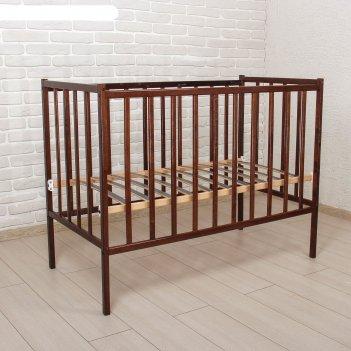 Детская кроватка magico mini, цвет тёмный орех