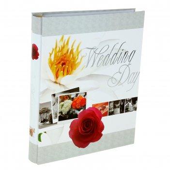 Фотоальбом на 240 фото 10х15 см свежая роза в коробке, микс