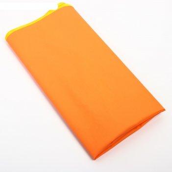 Клеенка с пвх покрытием на резинке 100 х 70 см, цвета микс
