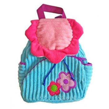 Рюкзачок полянка роз./гол. 20*28 см, пакет