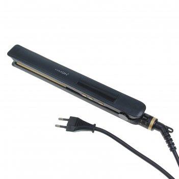 Щипцы для волос luazon lw-15, 50вт, 150-230с, led табло, регулировка темпе