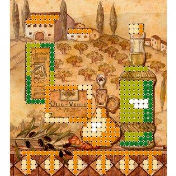 """""""магнит пейзаж 3"""" рисунок для вышивания бисером"""