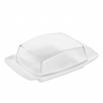 Масленка, размер: 17,5 х 12,1 х 5,8 см, материал: термопластик, цвет: белы