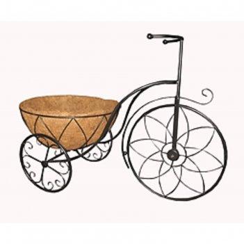 Кашпо из коковиты велосипед 66*31*34см