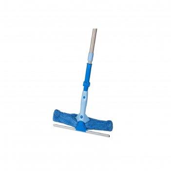 Щётка для мытья окон 2 в 1 hausmann, с телескопической ручкой и поворотным