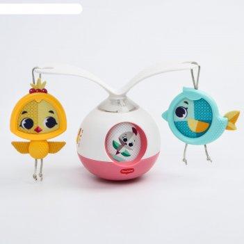 Развивающая игрушка музыкальная каруселька «принцесса»