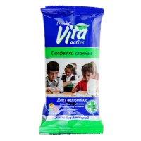 Салфетки влажные premial антибактериальные для школьников 15шт.