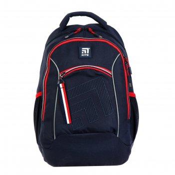 Рюкзак молодёжный kite 813l, 44 х 31 х 17, education, тёмно-синий