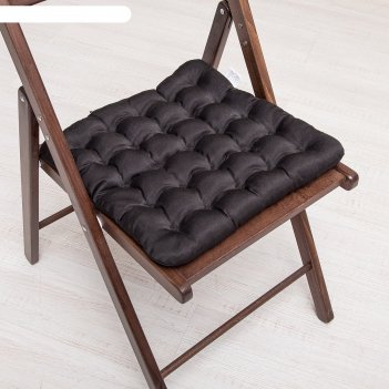 Био-подушка на стул 40*40 лузга гречихи, грета