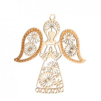 Декоративная форма-подвеска ангел