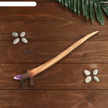 Сувенир деревянный волшебная палочка №4